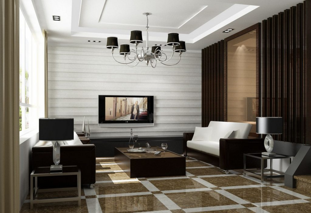 Interior design services - classic interior design style in a living room