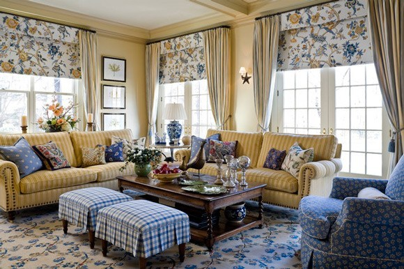 French Country Interior Design style - example
