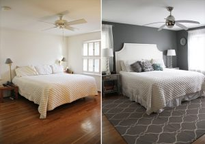 Interior Design Home staging process example