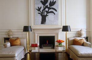 One way of achieving BALANCE is through symmetry in Interior Design