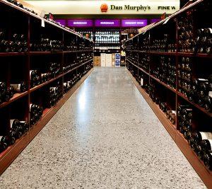 Concrete floor history example