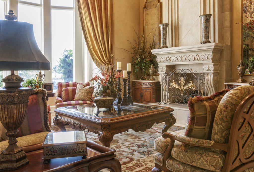 Traditional Style Interior Design- jonathancharles-id.com